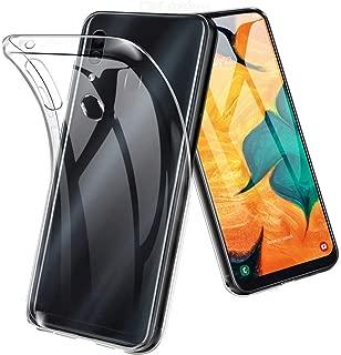 جراب خلفي نحيف وناعم من السيليكون TPU لهاتف Samsung Galaxy A30 غطاء شفاف