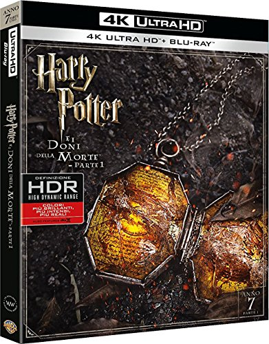 Harry Potter E I Doni Della Morte - Parte 01 (Blu-Ray 4K Ultra HD+Blu-Ray) [Blu-ray]