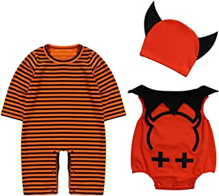 Le SSara Baby Devil & Vampire Halloween Bodys Newborn Body Kostüm Outfits 3pcs