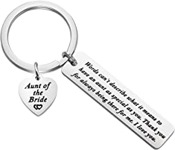 MAOFAED Aunt of The Bride Gift Aunt of The Groom Gift Auntie Gift Words Can't Describe What It Means to Have an Aunt As Special As You Aunt Appreciation Gift Aunt of The Bride Groom Aunt Wedding Gift