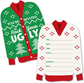 Best ugly sweater holiday party invitations Reviews