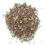 Aromas de Té - Infusión Digestiva de Rooibos con Eucalipto y Naranja en Bolsa de 50 gr. - Posee Efectos Relajantes y Ayuda a Reducir el Estrés - Infusión Natural Sin Teína