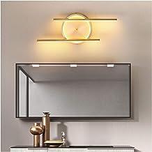 Led-spiegellamp, alles koperen materiaal modern en eenvoudig, geschikt voor badkamer wandlamp spiegelkastlamp
