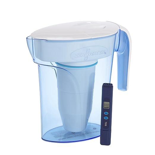 1699 opinioni per ZeroWater Caraffa filtrante per acqua 1,7L , filtro e misuratore della qualitá