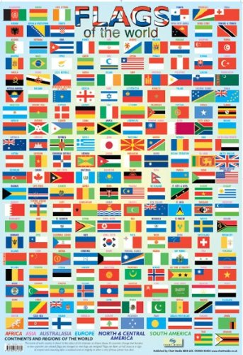 Flags of the World Poster 40x60cm by Grindstore