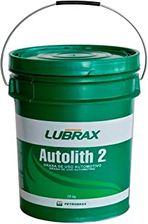 Graxa Lubrificante Lubrax Autolith 2 (20 Quilos)