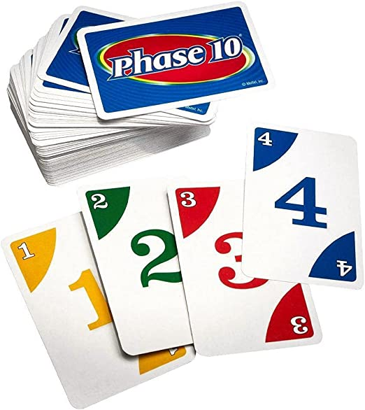 Phase 10 Card Game Brand new sealed package Mattel Original rummy-type card game