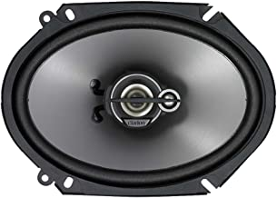 Clarion Mobile Electronics SRG6833C 300-Watt 6 x 8 Inches Good Series Custom Fit Multiaxial 3-Way Car Speakers, Set of 2 photo
