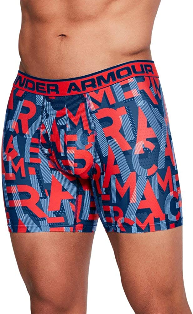 Under Armour Mens Original Series Printed Boxerjock