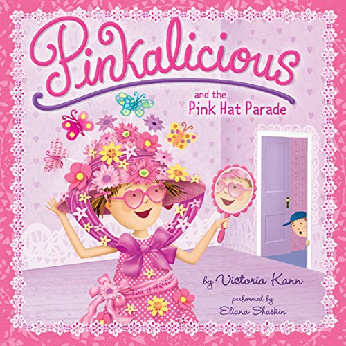 Pinkalicious and the Pink Hat Parade audiobook cover art