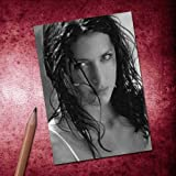 LISA SNOWDON - ACEO Sketch Card (Signed by the Artist) #js001