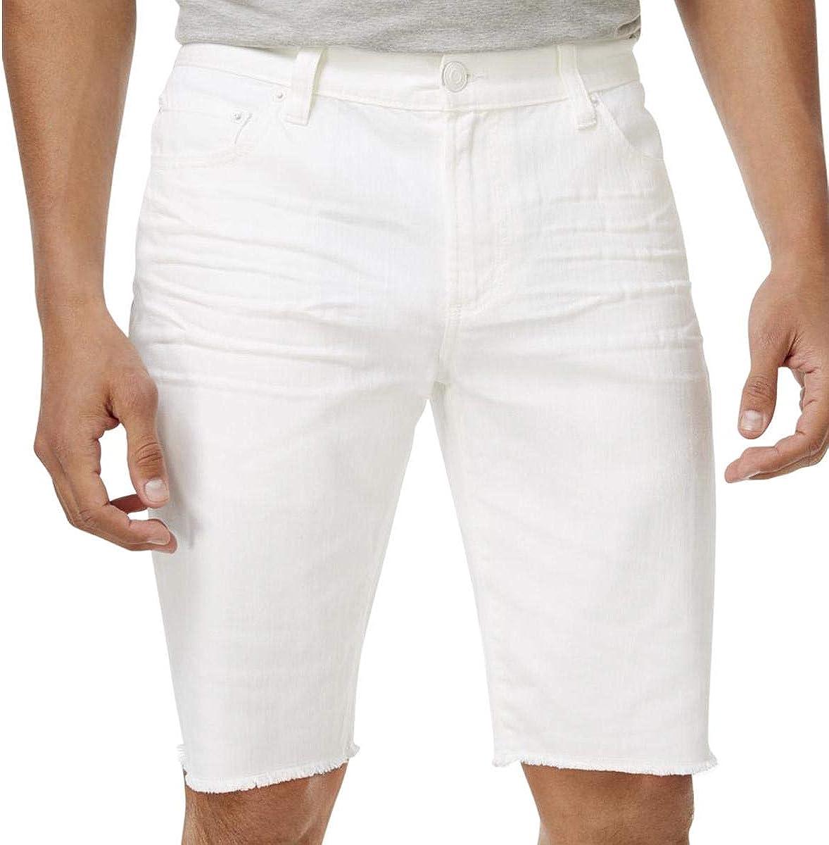 American Rag Men's Denim Cutoff Frayed Hem Shorts
