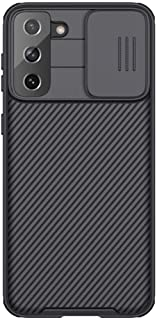 Nillkin Case Compatible with Galaxy S21 Plus Cover, Hard CamShield with Camera Slide, Drop Protection Cover [Built-in Lens...