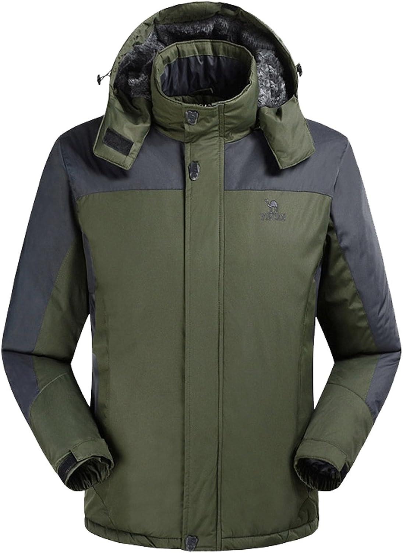 a63fa3c6 Lottaway Lottaway Lottaway Hooded Fur Fleece Quilted Winter Outdoor  Climbing Ski-wear Wind Jacket a4cf6d