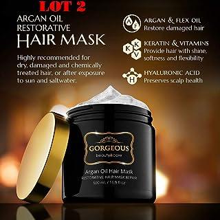 LOT 2 NUTRITIVE MASQUINTENSE FINE HAIR MASK 500ml /16.9 oz
