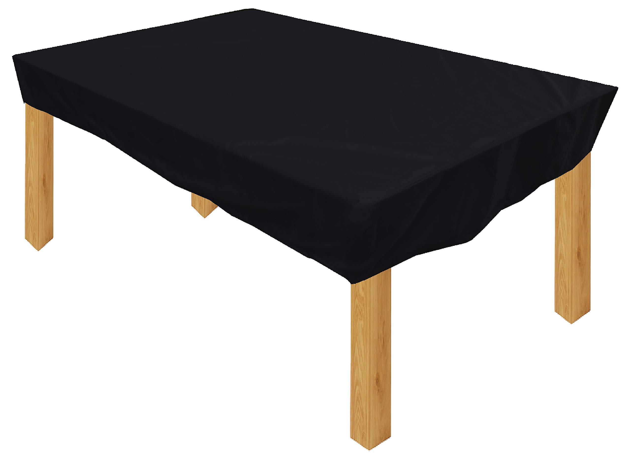 KaufPirat - Funda para muebles de jardín (150 x 90 x 15 cm), color negro: Amazon.es: Jardín