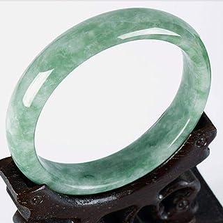 N-B Bracciale in Giada Naturale Calcite Lady Green
