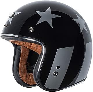 3 4 open face novelty helmets
