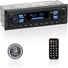 $29 » Sound Storm Laboratories ML43B Multimedia Car Stereo - Single Din, MP3 Player, No CD/DVD, Bluetooth Audio and Hands-Free Calling, USB, SD, AUX in, AM/FM Radio, Wireless Remote