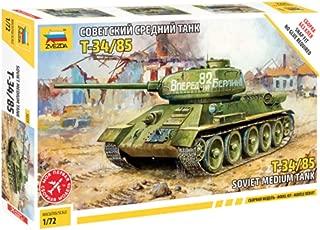 Zvezda 50391: 72–T-34/85Soviet Medium Tank WWII