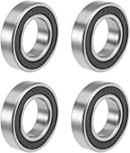 uxcell 6904-2RS Deep Groove Ball Bearings Z2 20mm x 37mm x 9mm Double Sealed Carbon Steel 4pcs