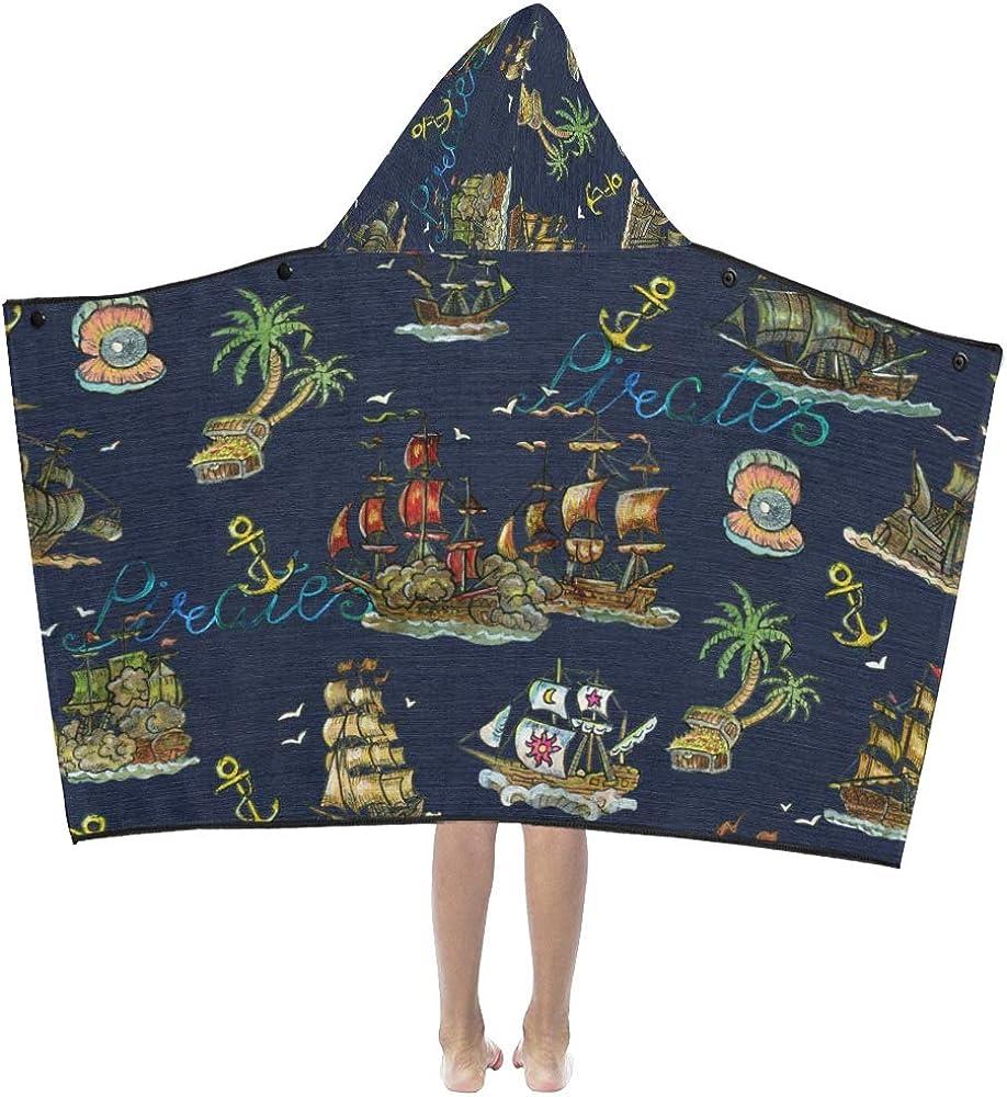 Kids Max 85% OFF High order Boy Blankets Cartoon Creative Hooded Pirate B Colorful