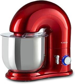KLARSTEIN Delfino - robot culinaire mélangeur, 1800W et 6 vitesses, fonction pulse, système mélangeur planétaire, bol inox...
