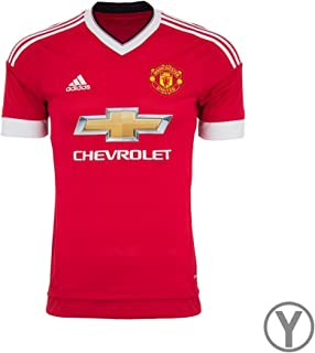 adidas Manchester United FC Home Youth Jersey-REARED