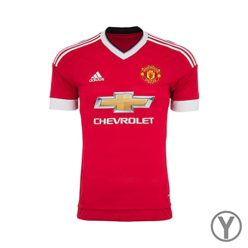 ea61c6137491 adidas Manchester United FC Home Youth Jersey-REARED