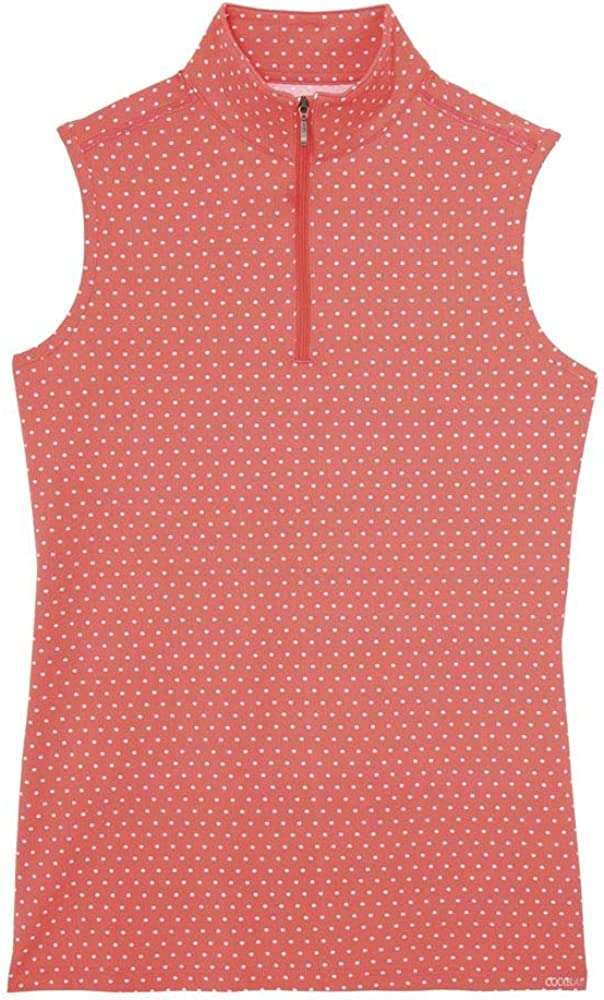 Dover Saddlery Ladies' CoolBlast Icefil Lots-of-Dots Sleeveless sold out Product