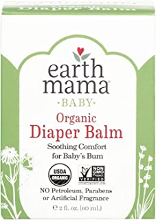 Earth Mama Baby Organic Diaper Balm 2 Ounce (Pack of 8)