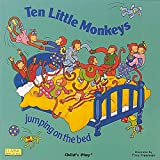 Ten Little Monkeys Jumping on the Bed (Classic Books With Holes) (Classic Books with Holes Board Book)