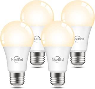 Smart Light Bulbs, Nitebird Dimmable LED Bulbs Work with...