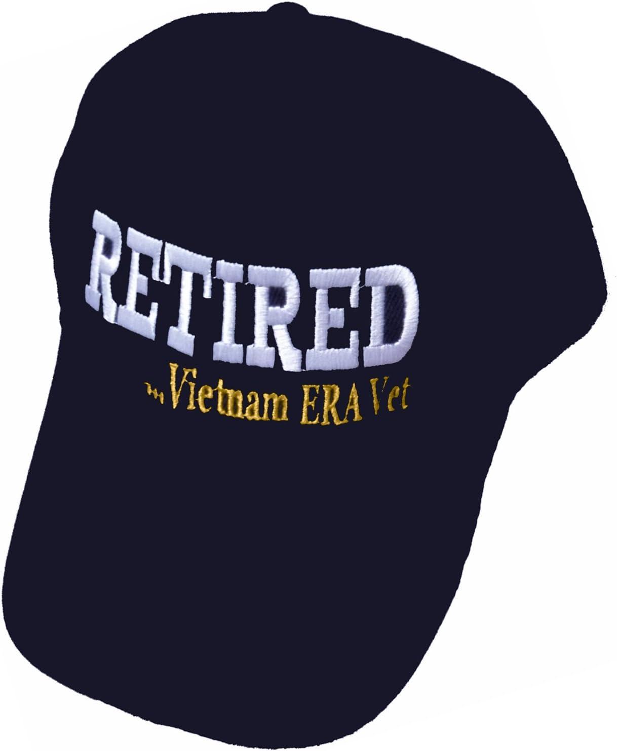 free Vietnam ERA Veteran Cap OFFicial site and BCAH Bumper Embroidered Mens Sticker