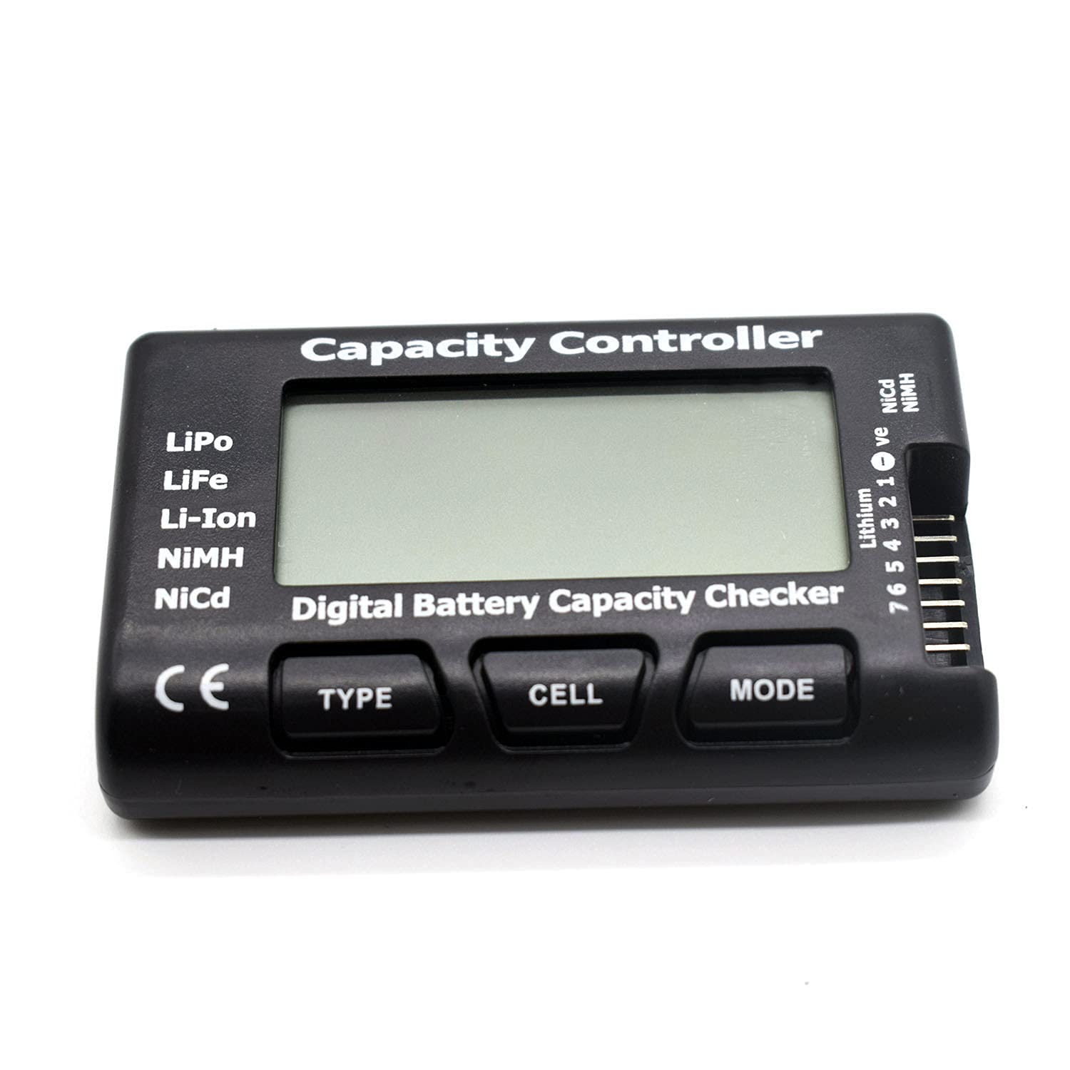 Goldby RC Cellmeter 7 Digital Battery Capacity Checker Controller Tester Voltage Tester for LiPo /Life /Li-ion /NiMH /Nicd Battery