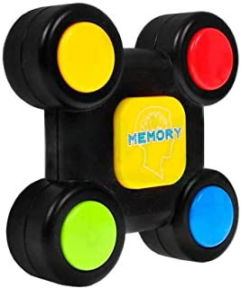 Emob® Brainstorming Sequence Remember Brain Development Electronic Memory Game Toy with Light and Sound Effects