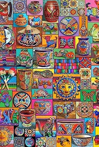 Rompecabezas para adultos 2000 piezas de vajilla colorida Juego de rompecabezas grande para amigos, educación intelectual de bricolaje, juguetes para aliviar el estrés, divertido juego de rompecabeza