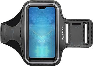 J&D Compatible para Huawei P20/P20 Lite/P10/P10 Lite/P30/P30 Lite/Huawei P40/iPhone XR/Galaxy Note 10 Brazalete Deportivo para Correr, Ranura para Llaves, Conexión con Auriculares Mientras Ejercicios