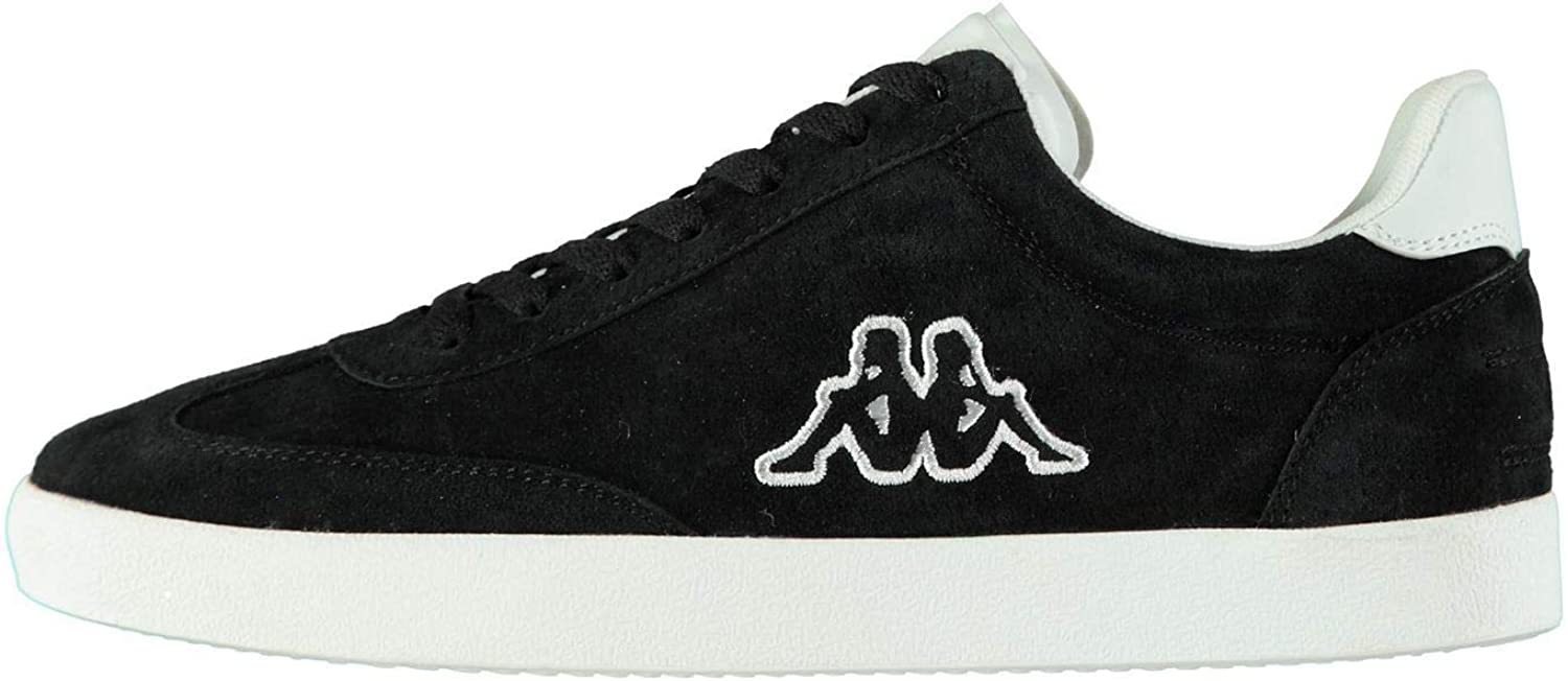 Official Kappa Collin Leather Trainers Mens Athleisure Footwear shoes Sneakers
