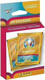 Panini France SA La Collection Officielle de Stickers UEFA Euro 2020 Tournament Edition - Blister de 12 Pochettes + 2 OFFE...