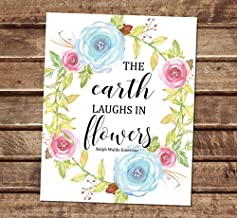 emerson earth laughs in flowers
