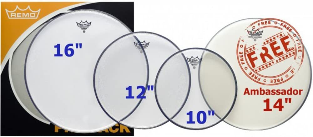 Remo Emperor Clear Propack Drumhead 14