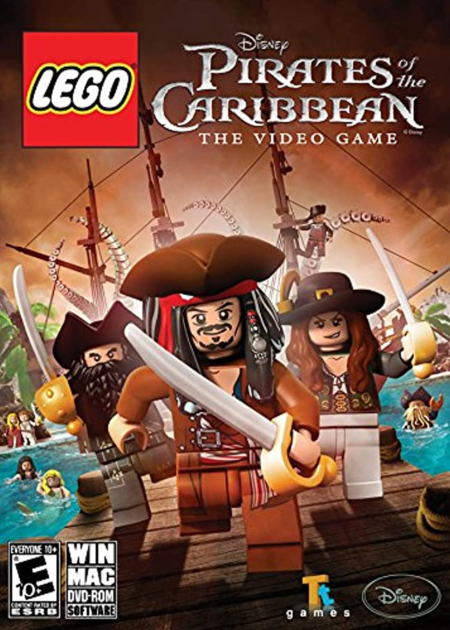 ヒープ拍手する工夫するLEGO Pirates of the Caribbean (輸入版)