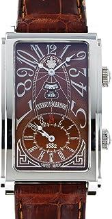 クエルボ・イ・ソブリノス CUERVO Y SOBRINOS プロミネンテ デュアルタイム デイデイト 1124-1ATG 中古 腕時計 メンズ (W182389)