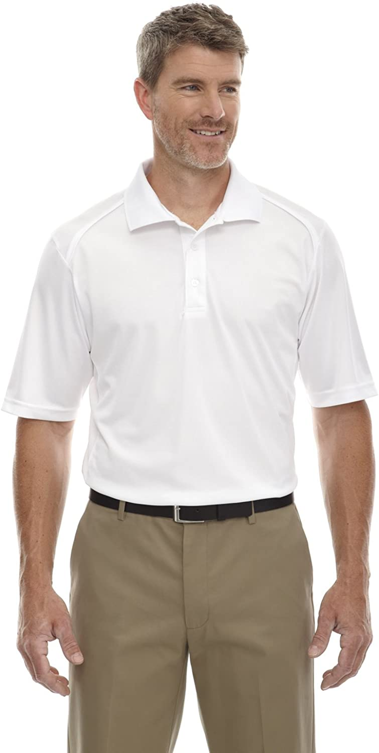 Extreme Eperformance Men's Tall Shield Polo Shirt, XLT, White 701