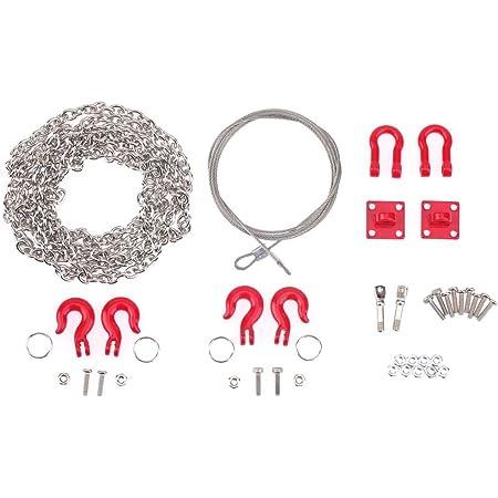 Domybest 3pcs Metall Universal Abschleppseil Kette Rc Car Crawler Zubehör Für Traxxas Spielzeug