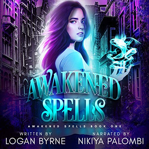 Awakened Spells audiobook cover art