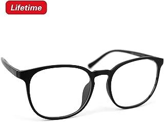 Blue Light Blocking Glasses, Computer Glasses Anti Eyestrain Clear Lens Lightweight Frame Gaming Glasses for Women Men