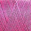 Linhasita ワックス加工 ポリエステル100% ツイスト 防水 耐擦れ性 マクラメ コード 糸 多色 180ヤード/170m スプール フレンドシップブレスレット ブラジルから輸入 (903 Fuchsia Kisss、1mm)