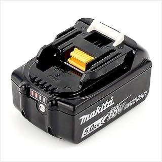 Makita BL1850 Litiumjonbatteri, 18V, Svart,